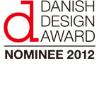 HOSOO nominated for the Danish Design Award 2012